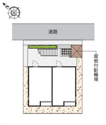 【地図】コーポ花ノ木