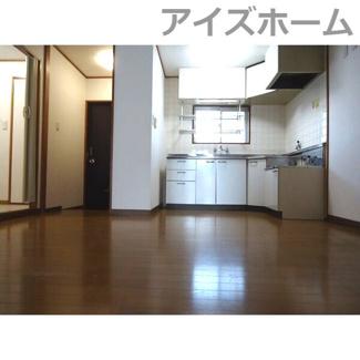 【居間・リビング】シャトーレ黒川