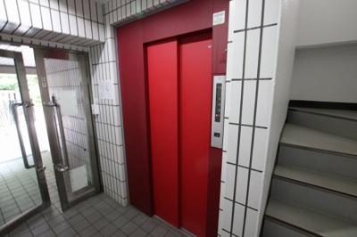 須川ハイツ エレベータ