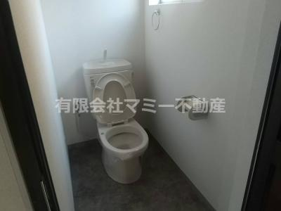 【トイレ】生桑町アパート付店舗
