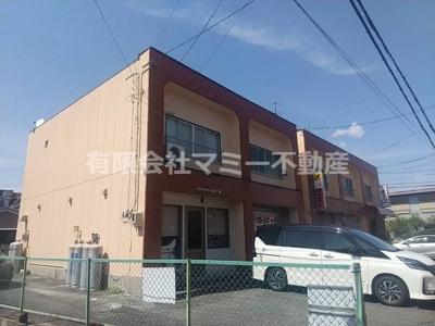 【外観】生桑町アパート付店舗