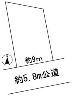 【区画図】56796 岐阜市萱場東町土地