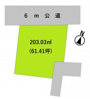 【土地図】グランファミーロ美しが丘