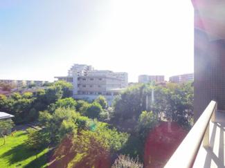 バルコニーからの眺望 南西方面