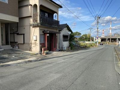 【前面道路含む現地写真】大牟田市西宮浦町