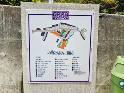 ベンタナヒルズ全体の地図