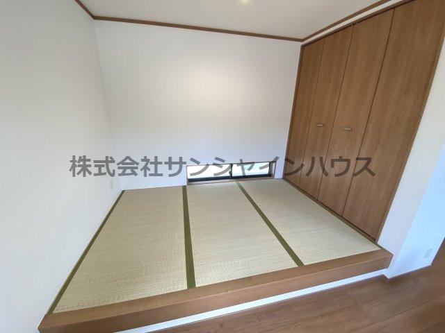 タタミコーナーはゆっくりと寛げる畳の空間です!