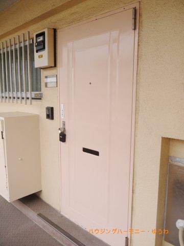【玄関】高島平マンション