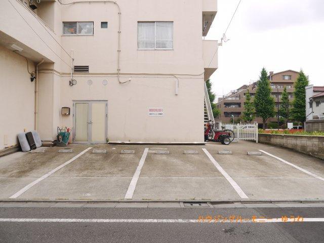 【駐車場】高島平マンション