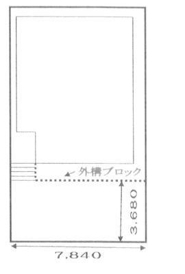 【区画図】我孫子市船戸3丁目 新築戸建