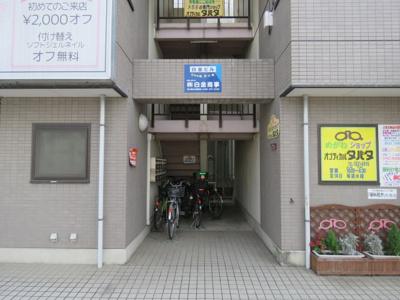 【エントランス】白金ビル