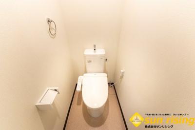 【トイレ】タカギ第2青梅橋マンション
