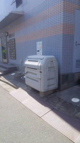 入居者専用ゴミ置場