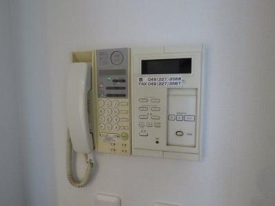インタフォン