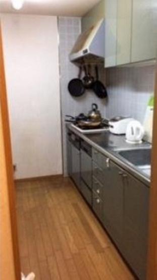 お部屋ににおいが付きにくい独立型キッチン