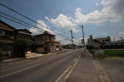 【前面道路含む現地写真】大津市あかね町2-10 中古戸建
