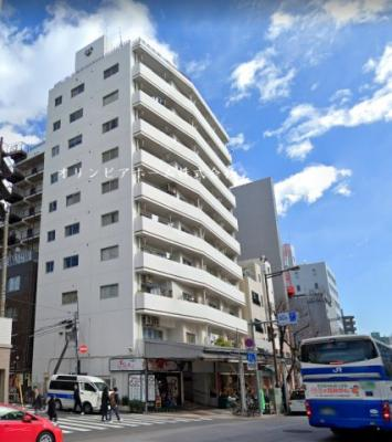 【外観】門前仲町サマリヤマンション 4階 リ ノベーション済
