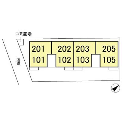 【区画図】エスポワール・エム