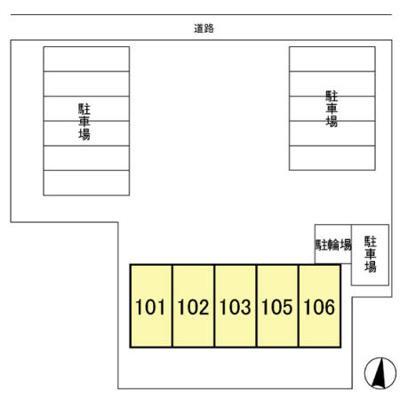 【区画図】グランデール南町田Ⅱ