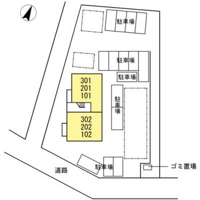 【区画図】ハーベスト七番館