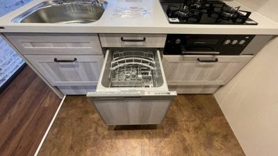 食器洗い乾燥機がついています!