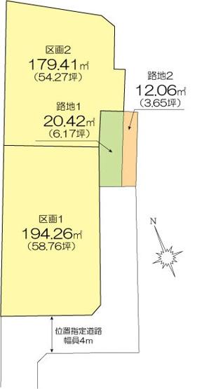 【土地図】天王町土地