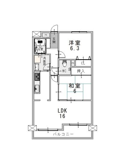 ◆クロス全面張替・床フローリング貼り・浴室交換・トイレ交換などリフォームされているので綺麗ですよ♪