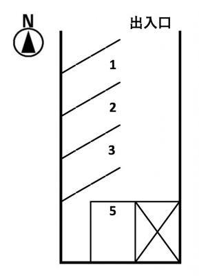 【区画図】諏訪町駐車場Y1