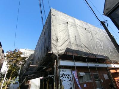 【外観】サンハイツ八幡山