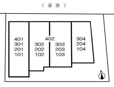【区画図】MODULOR中野EAST