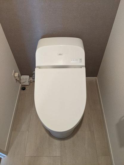 タンクレストイレはお手入れがとても楽ちんです♪