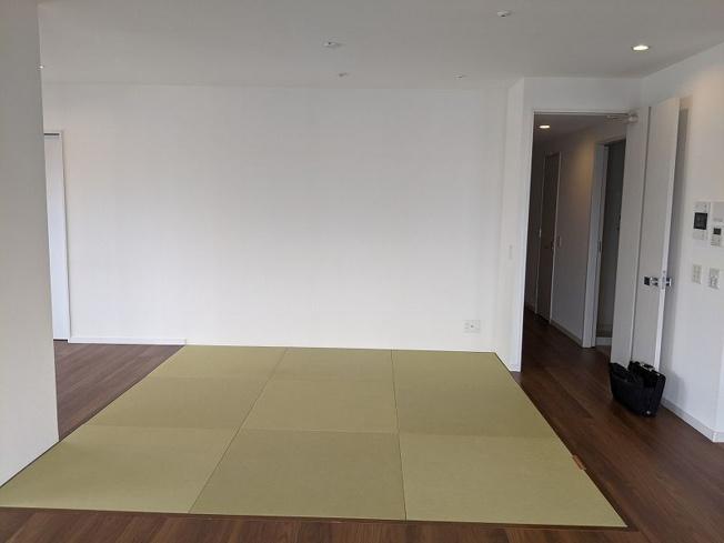 畳スペース。ゴロンと横になれる畳は、やっぱりほしいですよね。