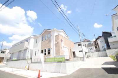 【外観:施工例】座間市入谷西3丁目 新築戸建て 全4棟 【仲介手数料無料】