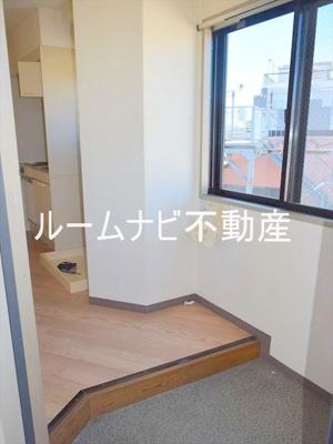 【玄関】ブルーステップ