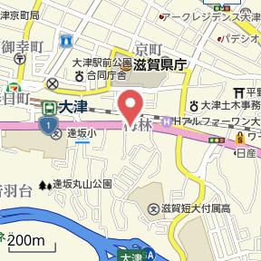 【地図】メゾン朝日が丘