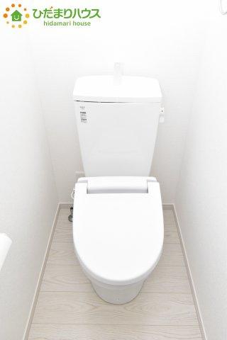 【トイレ】行田市佐間 1期 新築一戸建て リッカ 01