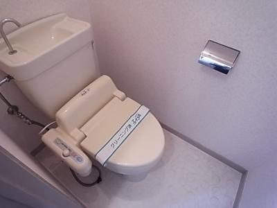 【トイレ】松本第二ハイツ