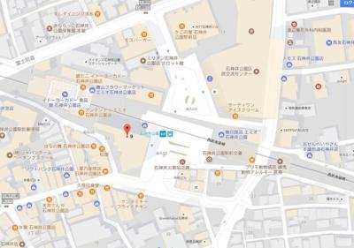 【地図】エミリブ石神井公園