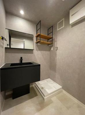 洗面化粧台、室内洗濯機置き場