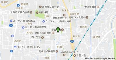 【地図】メゾンティックⅡ