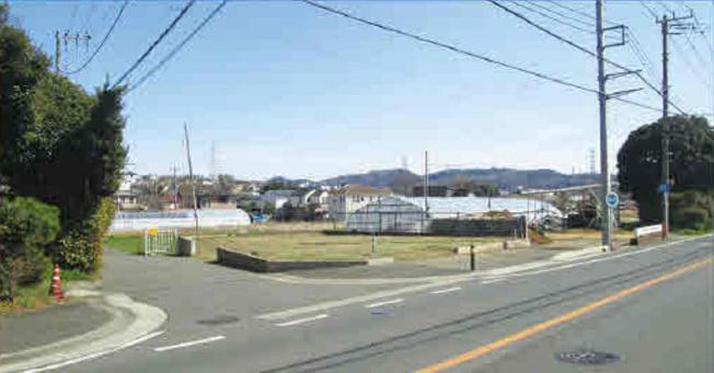 【前面道路含む現地写真】土地 平塚市下吉沢