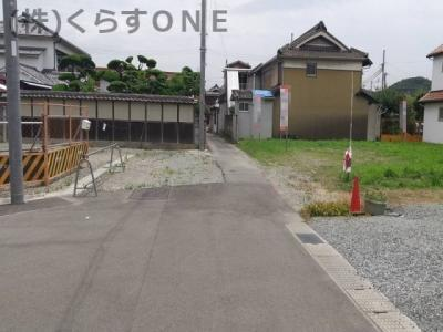 【前面道路含む現地写真】姫路市阿保/売土地