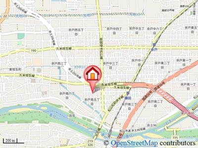 【地図】エントピア余戸Ⅱ