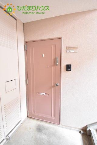 【玄関】ニュー吹上サンハイツB棟