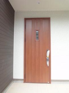 玄関施工例です。