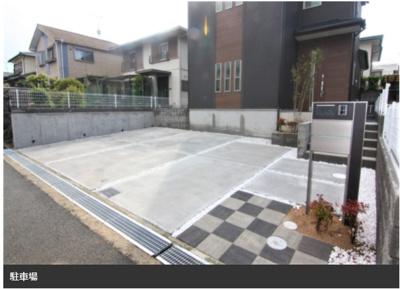 【駐車場】三木市志染町西自由が丘 新築