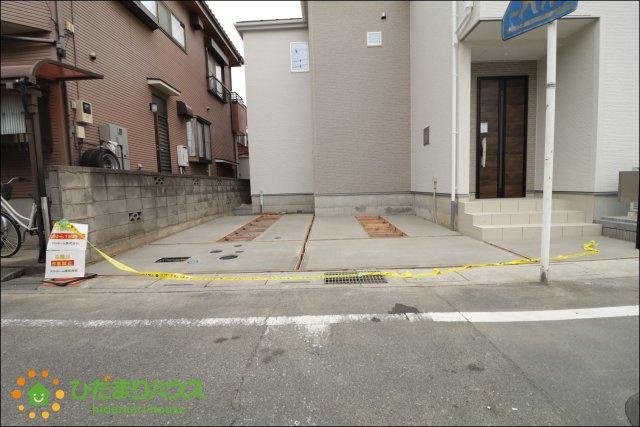駐車スペース2台分ご用意しております!!