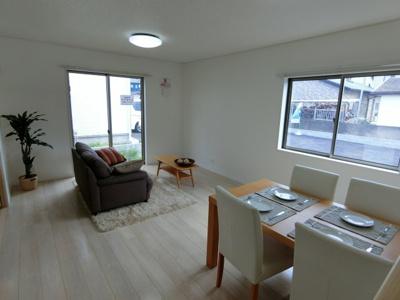 【居間・リビング】鹿嶋市港ケ丘第1 新築戸建 全5棟