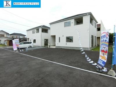 【外観】鹿嶋市港ケ丘第1 新築戸建 2号棟