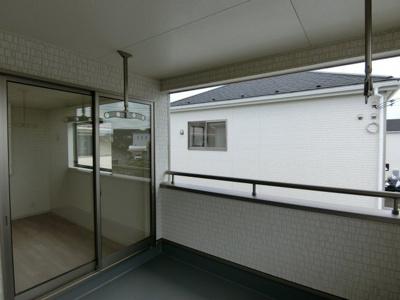 【バルコニー】鹿嶋市港ケ丘第1 新築戸建 2号棟